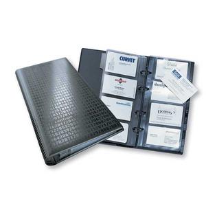 Durable Visifix Centium käyntikorttikansio A5, 4-renkainen, 200 korttia, musta