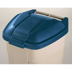 RUBBERMAID LID F/100L CONTAINER BLU