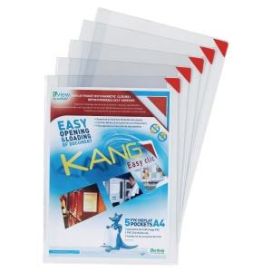Tarifold Kang Easy Clic tarratasku A4, myyntierä 1 kpl= 5 taskua