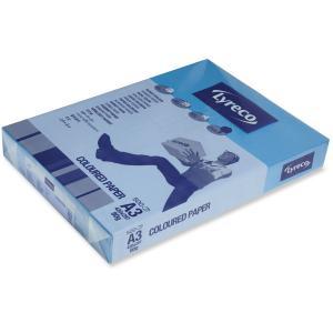 Lyreco väripaperi A3 80g voimakas sininen, 1 kpl = 500 arkkia