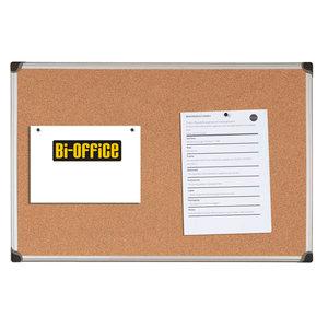 Bi-Office korkkitaulu 60 x 90cm, alumiinikehys