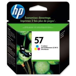 HP No. 57 C6657AE Mustesuihkupatruuna 3-väri