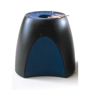Han Delta 1752/34 liitinrasia magnetisoitu, mitat: 95x95x88 mm, musta/sininen