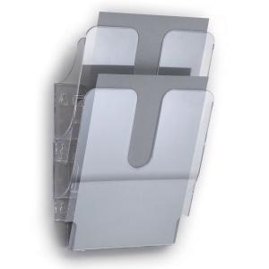 Durable seinäteline A4 pysty, myyntierä 1 kpl = 2 seinätelinettä