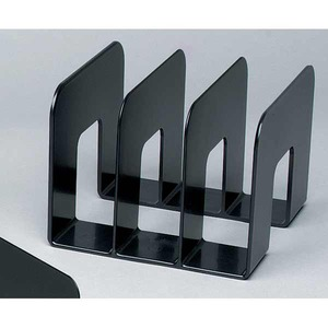 Durable kirjateline 1395060 3 osaa, mitat: 215 x 210 x 165 mm, musta