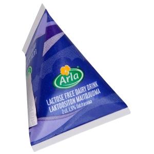 Arla annosmaito laktoositon 2cl kolmiotetra 1,5%, myyntierä 1 kpl = 100 tetraa