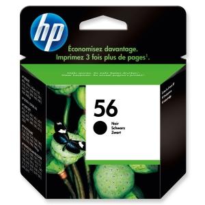 HP No. 56 C6656AE Mustesuihkupatruuna musta