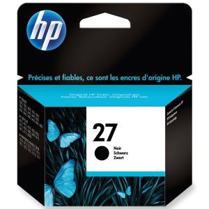 HP No. 27 C8727AE Mustesuihkupatruuna musta