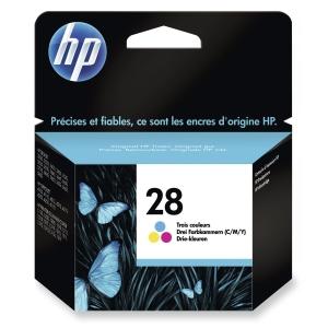 HP No. 28 C8728AE Mustesuihkupatruuna 3-väri