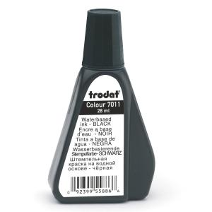 Trodat 7011 kumileimasinväri pullo, 28ml, musta