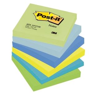 Post-it viestilaput 76 x 76mm, Dreamy, myyntierä 1 kpl = 6 nidettä