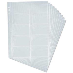 Durable Visifix Centium käyntikorttitasku A4, myyntierä 1 kpl = 10 taskua