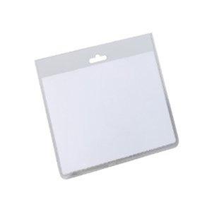 Durable 8135 nimikorttikotelo 60 x 90 mm kirkas, 1kpl=20 koteloa