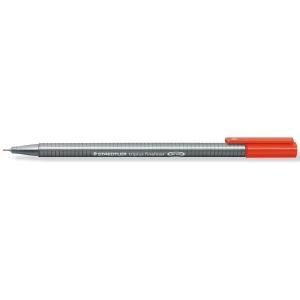 Staedtler Triplus 334-2 kuitukärkikynä 0,3 mm, punainen