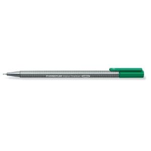 Staedtler Triplus 334-5 kuitukärkikynä 0,3 mm, vihreä