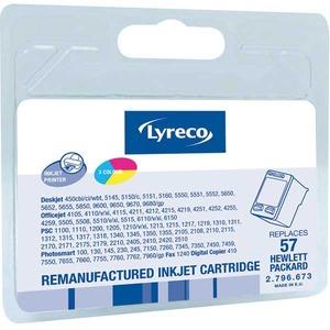 Lyreco HP No. 57 C6657AE Mustesuihkupatruuna 3-väri