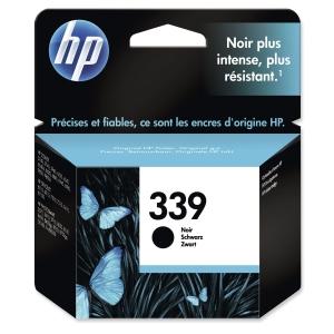 HP No. 339 C8767EE Mustesuihkupatruuna musta