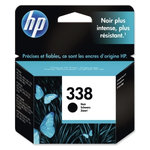 HP No. 338 C8765EE Mustesuihkupatruuna musta