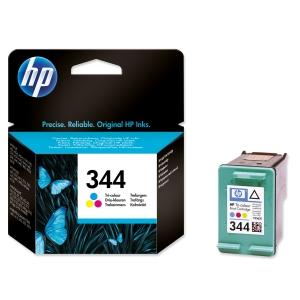 HP No. 344 C9363EE Mustesuihkupatruuna 3-väri