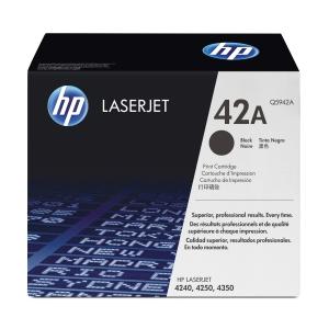 HP 42A Q5942A Laservärikasetti musta