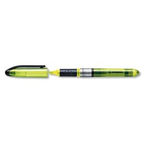 Stabilo Navigator korostuskynä viisto 1-4 mm, keltainen