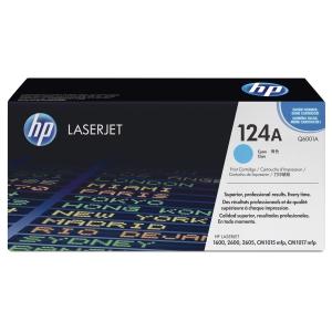 HP 124A Q6001A Laservärikasetti cyan