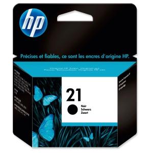 HP No. 21 C9351AE Mustesuihkupatruuna musta