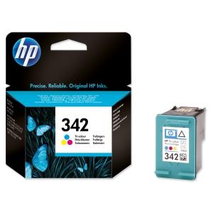 HP No. 342 C9361EE Mustesuihkupatruuna 3-väri