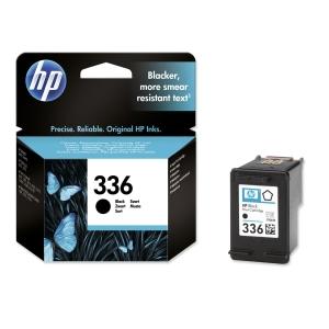 HP No. 336 C9362EE Mustesuihkupatruuna musta