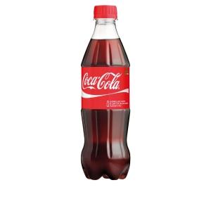 Coca-Cola 0,5L, 1 kpl=24 pulloa