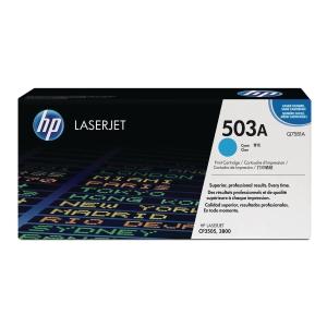 HP 503A Q7581A Laservärikasetti cyan