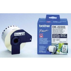 Brother DK22205 tarrarulla 62mmx30,5m, jatkuva