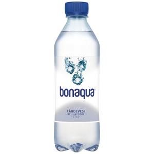 Bonaqua Still hiilihapoton vesi 0,5 L, me 1 kpl=24 pll