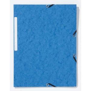 Lyreco kulmalukkokansio A4, sininen, myyntierä 1 kpl = 10 kansiota