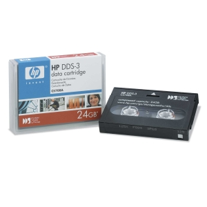 HP C5708A DDS-3 Datanauha 4mm x 125m 12GB/24GB POISTO