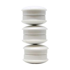 Lyreco valkotaulumagneetti 27mm valkoinen, myyntierä 1 paketti = 6 kappaletta