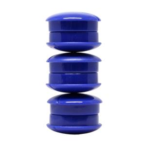 Lyreco valkotaulumagneetti 27mm sininen, myyntierä 1 paketti = 6 kappaletta