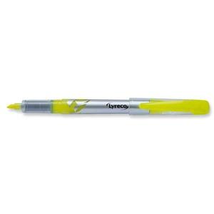 Lyreco kynämallinen korostuskynä 3,5 mm keltainen
