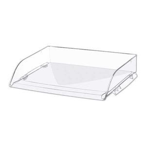 Lyreco lomakelaatikko, pitkä sivu auki, kirkas