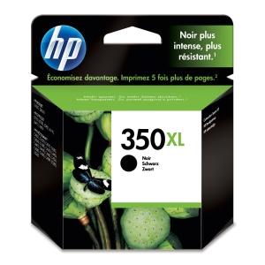HP No. 350 XL CB336EE Mustesuihkupatruuna musta HPXL