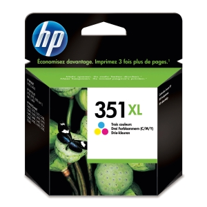 HP No. 351 XL CB338EE Mustesuihkupatruuna 3-väri HPXL