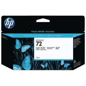 HP No. 72 C9370A Mustesuihkupatruuna photo musta