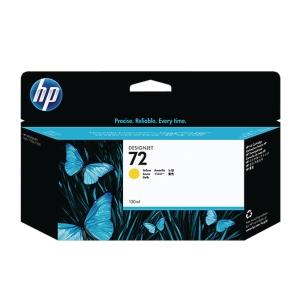HP No. 72 C9373A Mustesuihkupatruuna keltainen