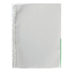 Signaalitasku A4 PP 110 mic, vihreä, myyntierä 1 kpl = 100 taskua