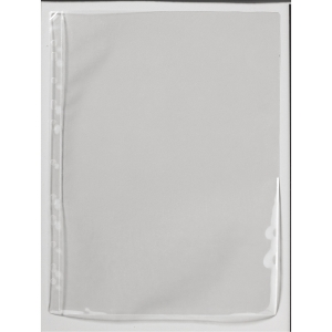 Signaalitasku A4 PP 110 mic, valkoinen, myyntierä 1 kpl = 100 taskua