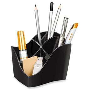 Cep kynäpurkki eko 4 osaa, mitat: 89 x 118 x 98 mm, musta