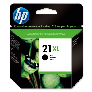 HP No. 21 XL C9351CE Mustesuihkupartuuna musta HPXL