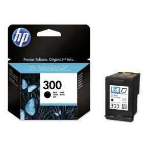 HP No. 300 CC640EE Mustesuihkupatruuna musta
