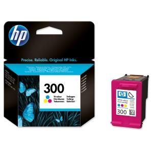 HP No. 300 CC643EE Mustesuihkupatruuna 3-väri