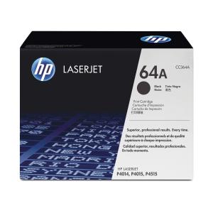 HP 64A CC364A Laservärikasetti musta
